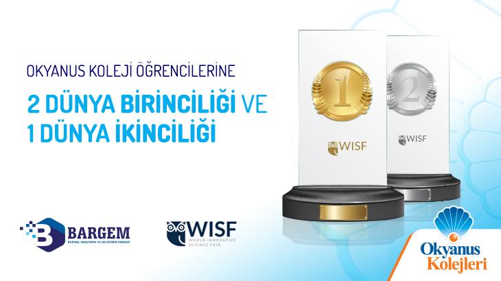 Uluslararası Bilim ve Teknoloji Yarışmasından 2 Dünya 1.si ve 1 Dünya 2.si