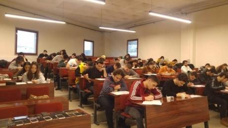 12.Sınıflara Üniversite de Deneme  Sınavı Uygulaması Yapıldı