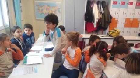 3.Sınıf Öğrencileri 'Picture Dictionary' Yarışması Sınıf İçi Etkinliğinde