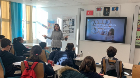 5. Sınıf Öğrencileri Kişisel Gelişim Dersinde