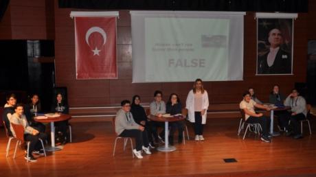 """9. Sınıflar İngilizce """"True False"""" Yarışması"""