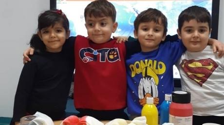 Adana Okyanus Koleji Okul Öncesi Yıldızlar Grubu Fen ve Doğa Etkinliğinde