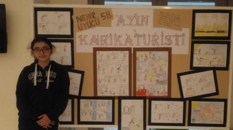 Ataşehir Okyanus Koleji Ayın Sanatçısını Seçti