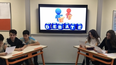 Ataşehir Okyanus Koleji Ortaokul 7. Sınıf Debate Etkinliği