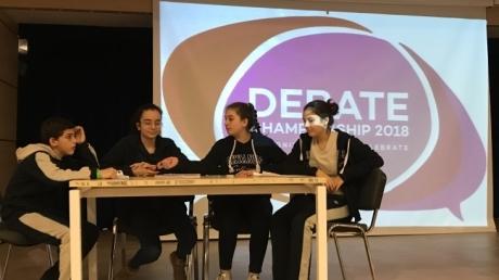 Ataşehir Okyanus Koleji Ortaokul 7. Sınıflar arası Debate Etkinliği