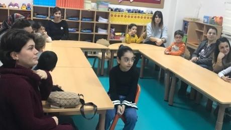 Avcılar Okyanus Koleji Deniz Yıldızları Grubu Öğrenci ve Velileri Ailemle Okulumdayım Etkinliğinde