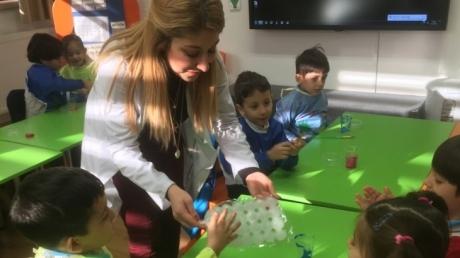 Bahçelievler Okul Öncesi Yıldızlar Grubu Fen ve Doğa Eğitiminde