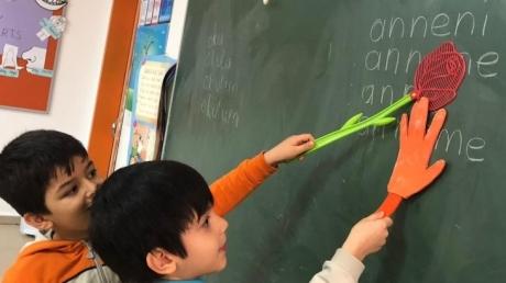 Bahçelievler Okyanus Koleji 1. Sınıf Öğrencileri Türkçe Dersinde
