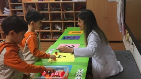 Bahçelievler Okyanus Koleji Okul Öncesi Mercan Grubu Öğrencileri Matematik İle Bütünleştirilmiş Oyun Eğitiminde