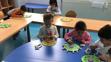 Bahçeşehir Deniz Yıldızı Grubu Okuma Yazmaya Hazırlık Etkinliğinde