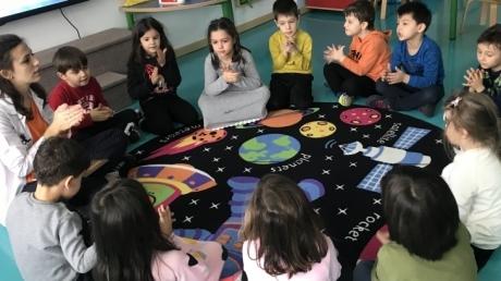 Bahçeşehir İstiridye Grubu Türkçe Dil Etkinliğinde