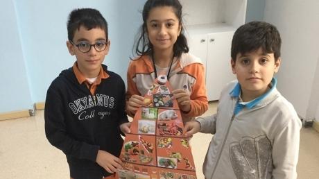 Bahçeşehir Okyanus Koleji Üstün Zekâlılar Ve Yetenekliler İlkokulu 4-D Sınıfı Besin Piramidi Yaptı.