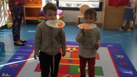 Bayrampaşa Okul Öncesi Çiçekler Grubu Play Time Etkinliğinde