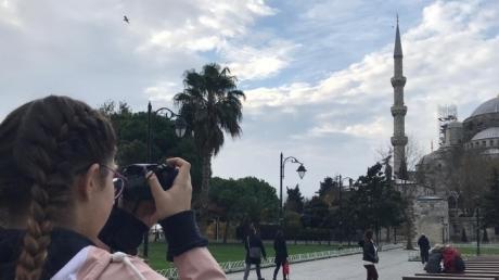 Bayrampaşa Okyanus Anadolu ve Fen Lisesi Fotoğrafçılık Kulübü Sultanahmette çekim yaptılar
