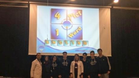 """Bayrampaşa Okyanus Fen ve Anadolu Lisesinde İngilizce """"4 Resim 1 Kelime"""" Yarışması"""