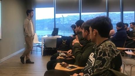 Beykent Okyanus Koleji öğrencileri için Haliç Üniversitesi etkinliği gerçekleştirildi.