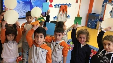Beykent Okyanus Koleji Okul Öncesi Balıklar Sınıfı Oyun Etkinliği Dersinde