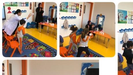 Beykent  Okyanus Koleji Okul Öncesi Gökkuşağı  Grubu  Aile Katılım  Etkinliğinde