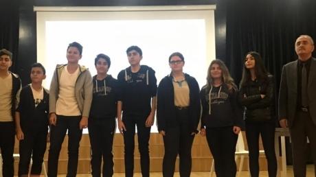 Beykent Okyanus Kolejinde  True-False Yarışması Düzenlendi