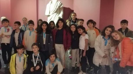 Bornova Okyanus İlkokulu 4. Sınıf Öğrencilerimiz Etnografya Müzesi'nde