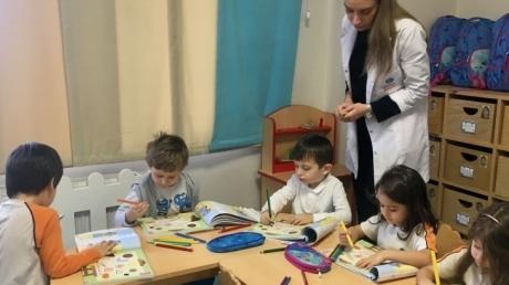 Çekmeköy Okul Öncesi Balıklar Grubu İngilizce Etkinliğinde