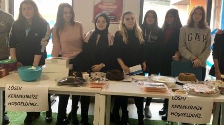 Çekmeköy Okyanus Koleji Anadolu Lisesi Öğrencileri ''LÖSEMİNİN FARKINDAYIM''