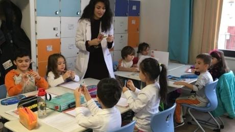 Çekmeköy Okyanus Koleji Okul Öncesi Yıldızlar Grubu İlkokul Okuma Yazmaya Hazırlık Dersinde