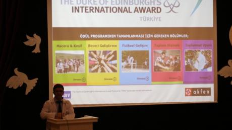 Eryaman Okyanus Anadolu Lisesinde Uluslararası Gençlik Ödülleri Ödül Töreni Heyecanı