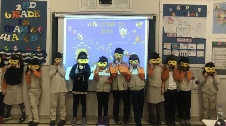 Eryaman Okyanus Koleji İlkokul Kademesi 2. Sınıf Öğrencilerinin 'Spelling Bee' Heyecanı