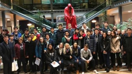 Fatih Okyanus Koleji  Mimarlık,Mühendislik,Hukuk,İşletme Ekonomi, Psikoloji,İletişim Ve Halkla İlişkiler Kariyer Kulubü Öğrencilerine Bölüm Tanıtım Etkinliği