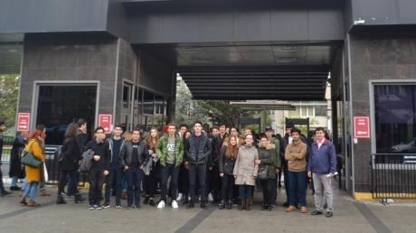 Fatih Okyanus Koleji  Mühendislik Kariyer Kulübü Öğrencileri Marmara Üniversitesinde