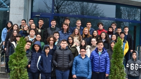 Fatih Okyanus Koleji Öğrencilerinin Yıldız Teknik Üniversitesi Gezisi