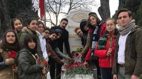 Fatih Okyanus Koleji Ortaokul Öğrencileri İstiklal Şairi Mehmet Akif ERSOY'u 81. Yıldönümünde Saygıyla Andı