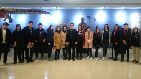 Fatih Okyanus Koleji Sağlık Kariyer Kulübü Öğrencileri Biruni Üniversitesinde Bölüm Tanıtımı Etkinliğinde