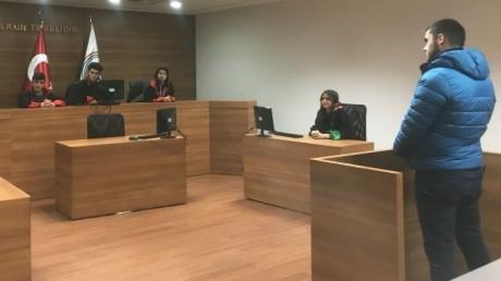 Hukuk Kariyer Kulübü Öğrencileri Dava Uygulamasında!