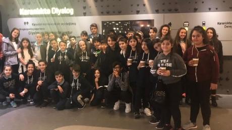 Güneşli  Orta Okul Öğrencileri Fark Et! Farkındalık Gezisinde