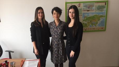 İncek Okyanus Koleji Anadolu Lisesinin Hacı Bayram Veli Üniversitesi Ziyareti