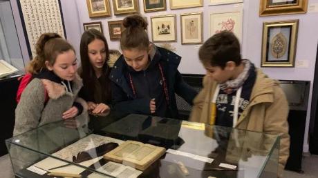 Kâğıt ve Kitap Sanatları İle Etnografya Müzesi Gezimiz...