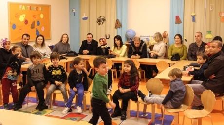 Kemerburgaz Okyanus Koleji Okul Öncesi Öğrencileri ve Velileri Ailemle Okuldayım Etkinliğinde