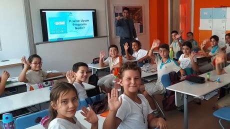 Lara Okyanus Koleji 4.Sınıf Öğrencilerimizin P-WİSE Uyum Programı