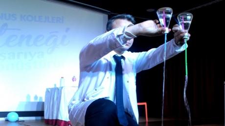 Mavişehir Okyanus Koleji Ortaokul Öğrencileri Basınç Deneyleri Şenliği Gerçekleştirdi