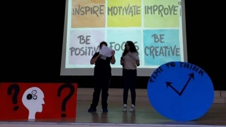 """Mimar Sinan Okyanus Kolejleri altıncı sınıf öğrencileri ile """"Language Day"""" etkinliği yapıldı."""