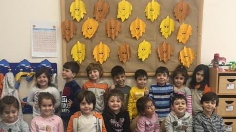 Mimarsinan Okyanus Koleji Okul Öncesi Yunuslar Grubu Sanat Etkinliğinde