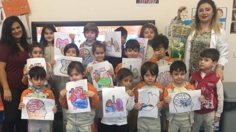 Mimarsinan Okyanus Koleji Okul Öncesi Yunuslar Grubu Aile Katılım Etkinliğinde