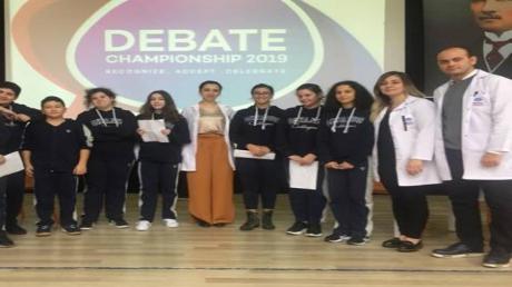 Mimarsinan Okyanus Koleji Ortaokulu Debate Yarışması Heyecanı