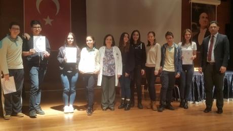 Öğrencilerimize O'MUN Katılım Sertifikaları Verildi