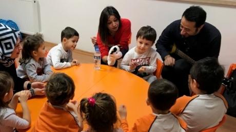 Okul Öncesi Deniz Yıldızı Sınıfı Öğrencileri Aile Katılım Etkinliğinde