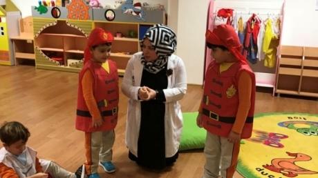 Okul Öncesi Deniz Yıldızları Grubu Öğrencileri Türkçe Etkinliğinde