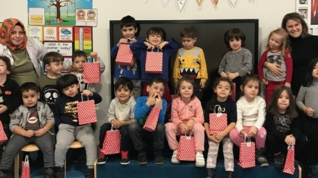 Okul Öncesi Yunuslar Grubu Aile Katılım Çalışmasında