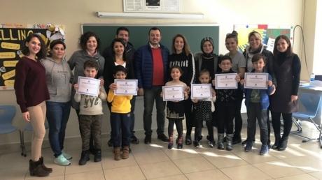 Okyanus Koleji Mavişehir Kampüsünde Anne Baba Çocuk Atölyesi